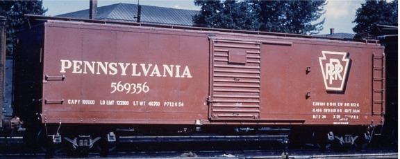 Steam Era Freight Cars Gallery Box Cars Pennsylvania