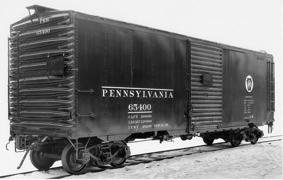 Steam Era Freight Cars Prr X37 Box Amp Auto Cars
