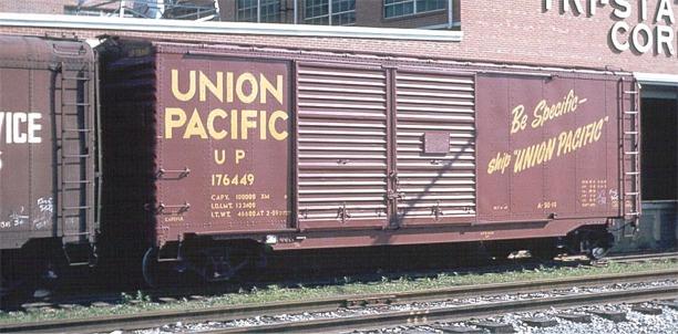Steam Era Freight Cars Union Pacific A 50 19 176449